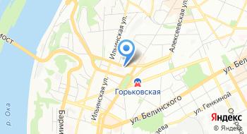 УФК по Нижегородской области, отдел №60 на карте