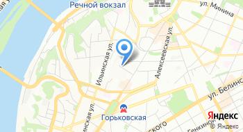 Нижегородская православная гимназия имени Сергия Радонежского на карте