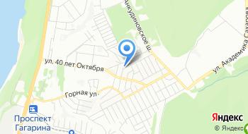 Лыжная база Квант НИИИС им. Седакова на карте