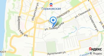 Индекор на карте