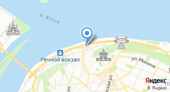 Нижегородский турбизнес на карте