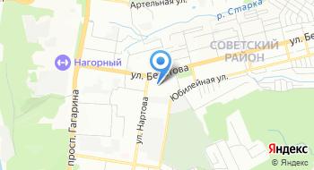 Офисный вариант на карте