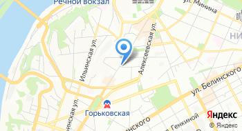 Продуктовый магазин Первая булочная на карте