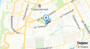 Дэфо на карте