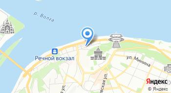 Отель Серебряный Ключ на карте