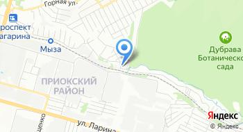 Пейнтбольный клуб Омега на карте
