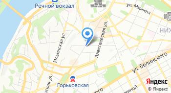Нижегородский хоровой колледж имени Л.К. Сивухина на карте