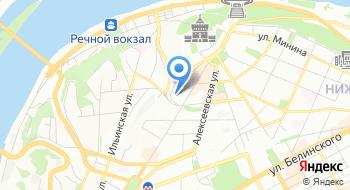 Государственная инспекция труда в Нижегородской области на карте