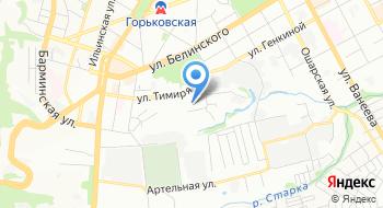 Биакр на карте