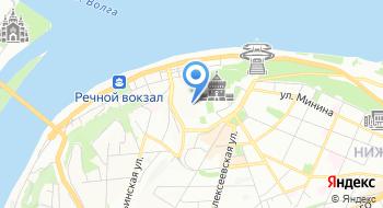 УФК по Нижегородской области на карте