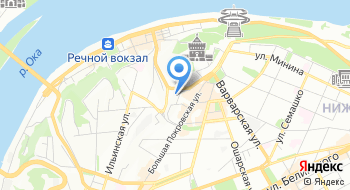 Клиника Кремлевская на карте