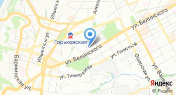 Нижегородский Пейнтбол центр на карте