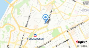 Нижегородский центр научно-технической информации филиал ФГБУ Российского энергетического агентства Минэнерго России на карте