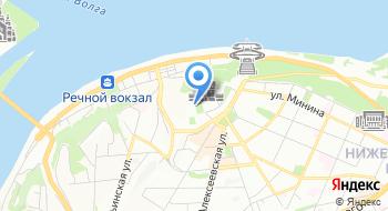 Избирательная комиссия Нижегородской области на карте