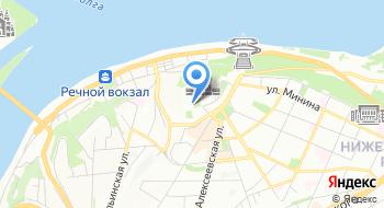 Посольство Республики Беларусь Отделение в г. Нижний Новгород на карте