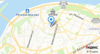 Нижегородский государственный академический театр драмы имени М. Горького на карте