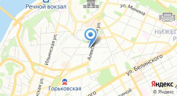 Нижегородский театр Комедии на карте