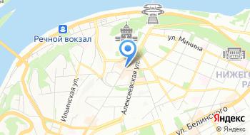 Филиал НГИАМЗ Выставочный зал Покровка,8 на карте