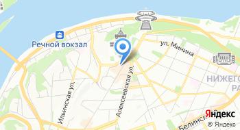Берендеева деревня на карте