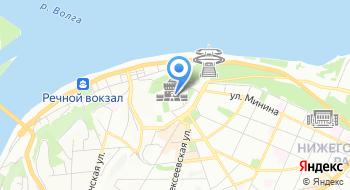 Пресс-служба Правительства Нижегородской области на карте