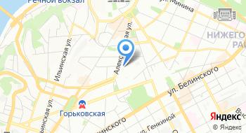 ГБУ НО Спортивная база Фора на карте