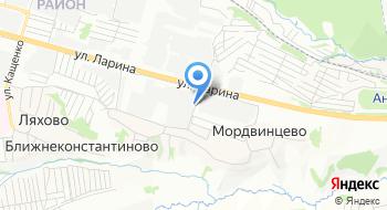 Центргаз на карте