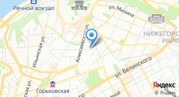 Архиерейское подворье во имя Святых Кирилла и Мефодия город Нижний Новгород РПЦ на карте