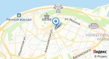 ГБУК Нижегородская государственная областная универсальная научная библиотека имени В.И. Ленина на карте