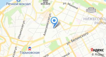 Волго-Вятская Государственная инспекция пробирного надзора на карте