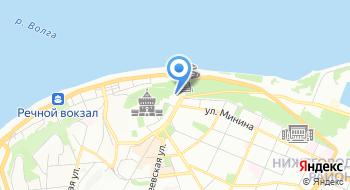 Волга НН на карте