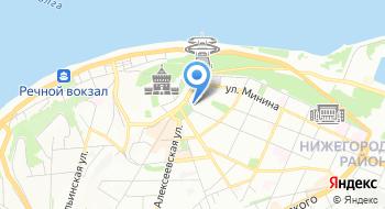 Солисты Нижнего Новгорода на карте