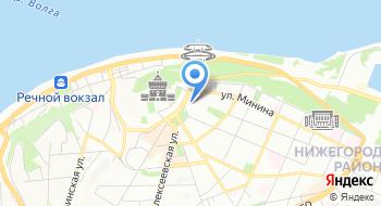 Нижегородское Региональное отделение ЛДПР на карте