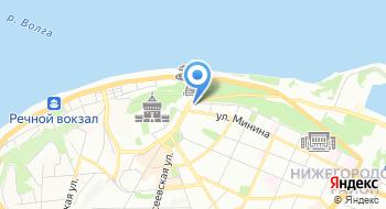 Нижегородская государственная медицинская академия на карте