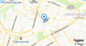 Курьерская служба Фокс-Экспресс на карте