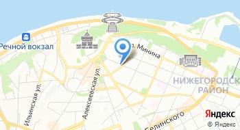 Туристическая компания НижегородИнТур на карте