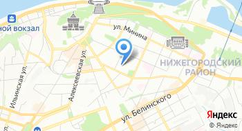 Травмпункт Нижегородского района на карте