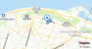 Торгово-экономическое представительство Республики Татарстан в Нижегородской области на карте