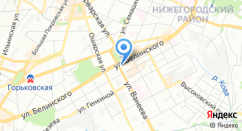 Нижегородский Государственный Академический театр Оперы и Балета Имени А. С. Пушкина на карте