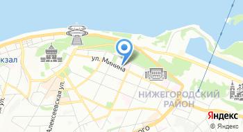 Управление федеральной налоговой службы России по Нижегородской области на карте