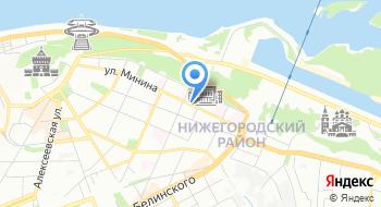 Нижегородский государственный технический университет на карте