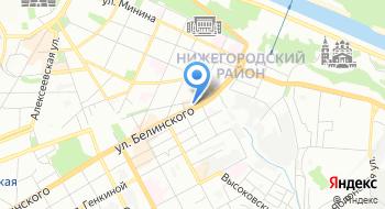 Нижегородский мастер на карте
