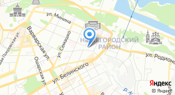 Городская навигация на карте