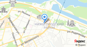 ИФНС России по Канавинскому району г. Н. Новгорода на карте