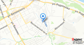 ГКУ Государственный архив Нижегородской области документов по личному составу на карте