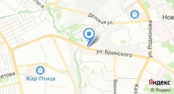 Фольксваген центр Нижний Новгород на карте