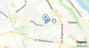Подстанция скорой помощи Советская на карте