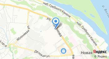 Ассоциация предпринимателей г. Нижний Новгород на карте