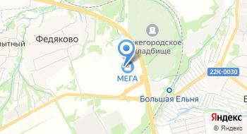 Гипермаркет меха (закрыт нареконструкцию) на карте