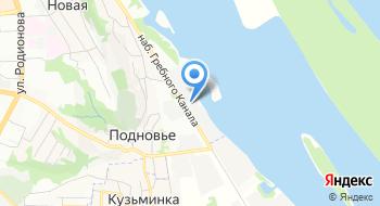 Администрация Волжского Бассейна Внутренних Водных Путей на карте