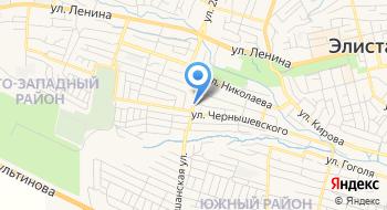 Отделение почтовой связи Элиста 358004 на карте